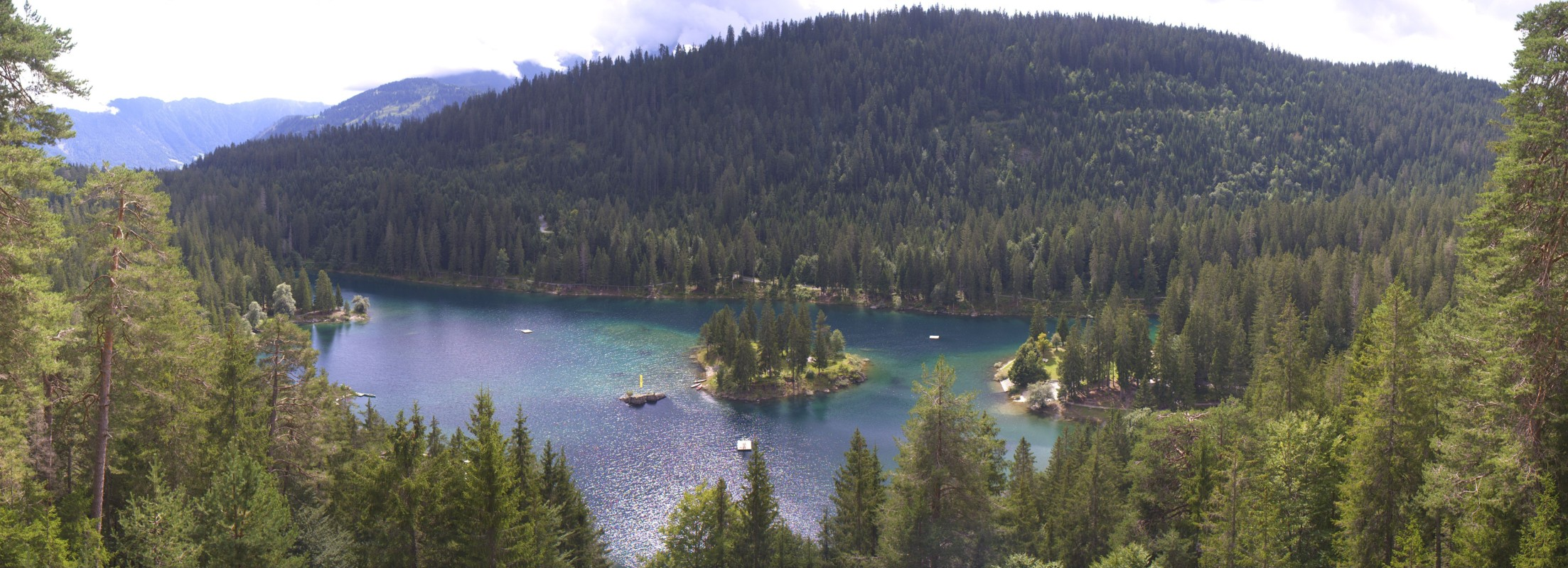 Flims Caumasee Panorama