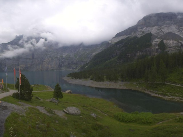 Webcam Lake Oeschinen | Kandersteg | Switzerland